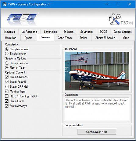 FSDG-Scenery Configurator